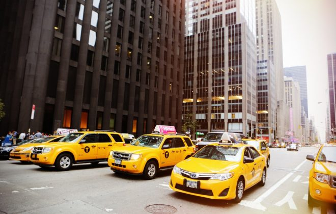 yellow cab fleet