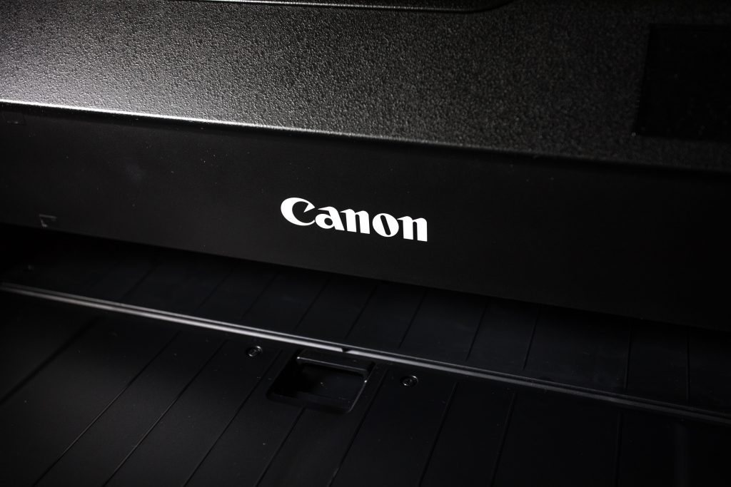 black canon office printer